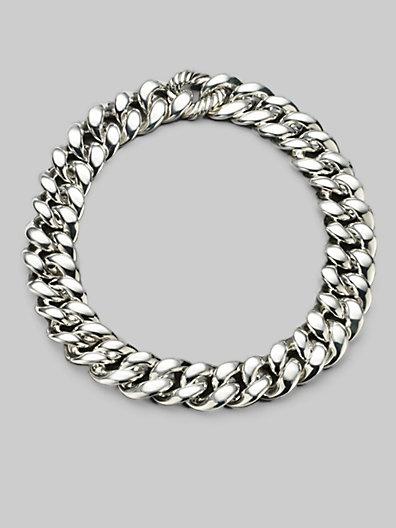 David Yurman - Sterling Silver Chunky Chain Necklace - Saks.com