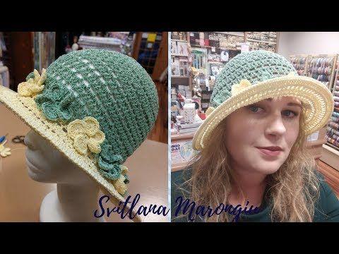Tutorial Uncinetto Cappello Estivo Elegante Alluncinetto