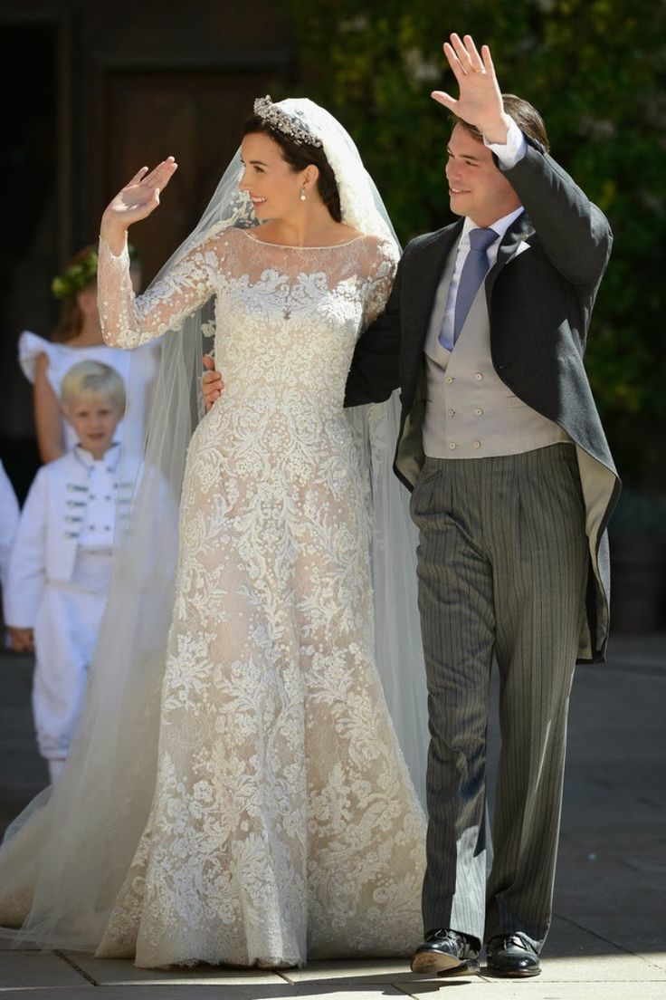 Religious Wedding Of Prince Felix Of Luxembourg & Claire ...