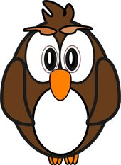 Cool Cartoon Owls Clip Art | Owl Pictures - Owl Clip Art