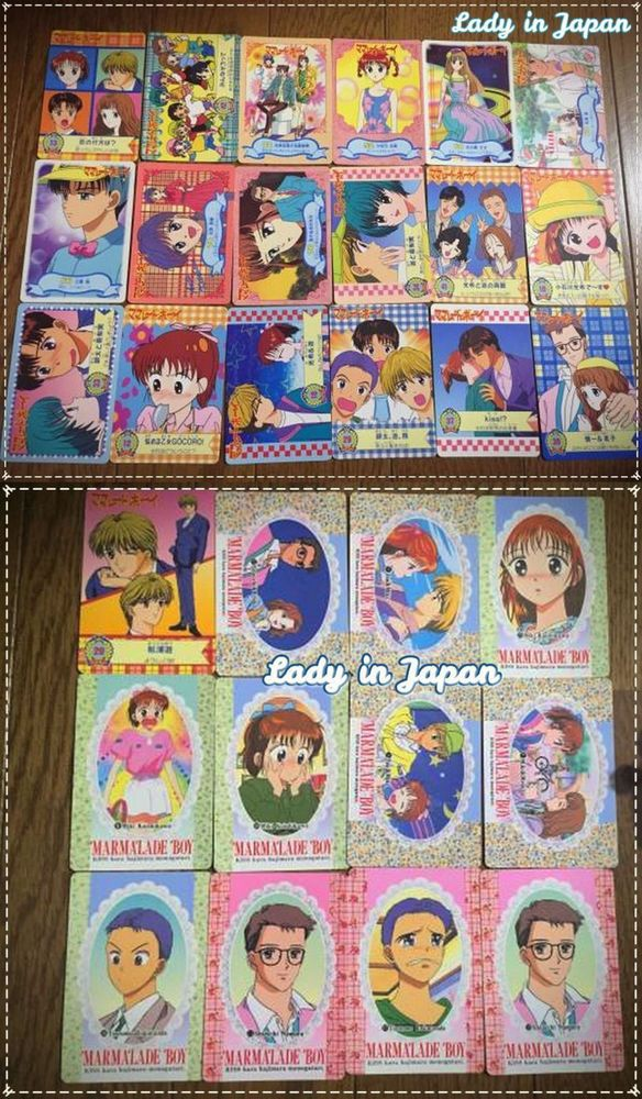 Marmalade Boy La Familia Crece Bandai Anime Cards (30 Pieces) ►Available Now◄ #MarmaladeBoy #WataruYoshizumi #Bandai #Cards #Anime #ToeiAnimation #Ribon