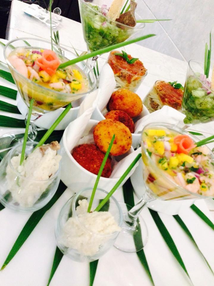 Ceveiche Thai Refrescante y delicioso #LoveMemoriesWeddings #CreandoMomentosMemorables