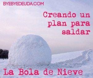 Creando un Plan para Saldar Deudas: La Bola de Nieve