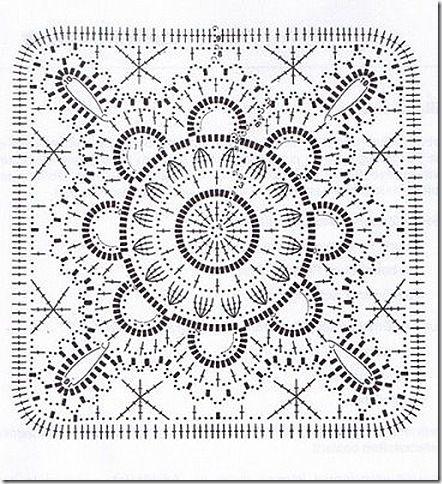 Crochet square 2