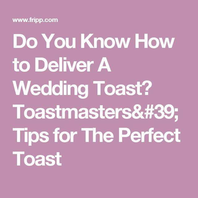 1000+ Ideas About Wedding Toasts On Pinterest