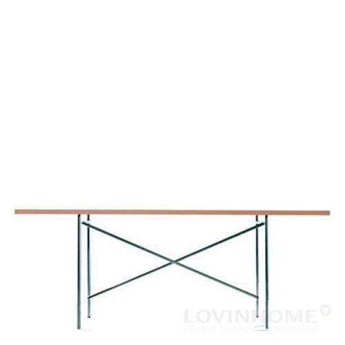 Eiermann Tischgestell 1 verchromt mittig