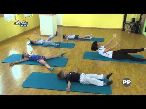 ФИТНЕС ДЛЯ ДЕТЕЙ TA//RGET FITNESS.LIDIA VINOGRADOVA..MOLDOVA SPORT TV - YouTube