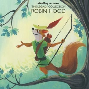 Original Motion Picture Soundtrack (The Legacy Collection OST) from the Walt Disney's movie Robin Hood (1973). Music composed by Various Artists.    Robin Hood: The Legacy Collection CD #RobinHood #WaltDisney #TheLegacyCollection #soundtrack #tracklist #ost