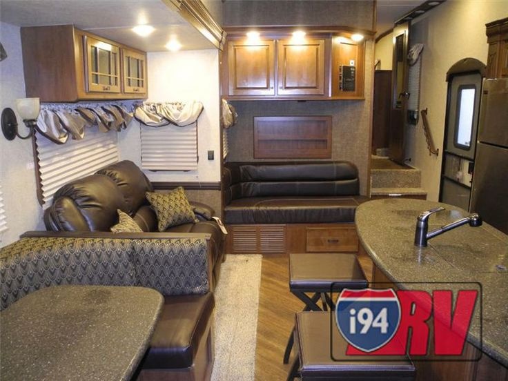 Class B Rv Manufacturers >> Heartland Gateway 3650BH Bunkhouse Interior 5th Wheel RV | Awesome RVs | Remodeled campers ...