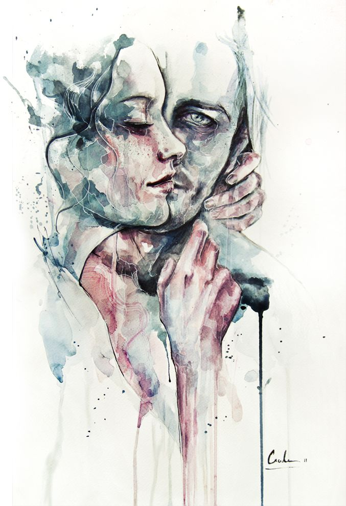 As aquarelas da italiana Silvia Pelissero | GGN #Watercolour #Aquarela…