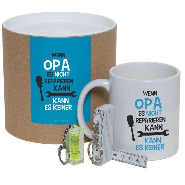 Geschenke für Männer - Geschenkset / Dose für Opa - ein Designerstück von Aleksessio bei DaWanda