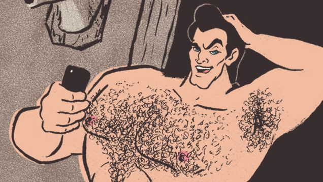 Disney Dudes' Dicks: What Your Favorite Princes Look Like Naked (Please don't judge me but I died laughing at this. So good. And for once, read the comments for great Gaston song parodies.)