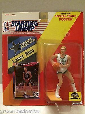 (TAS009079) - Starting Lineup - Larry Bird #33 Boston Celtics