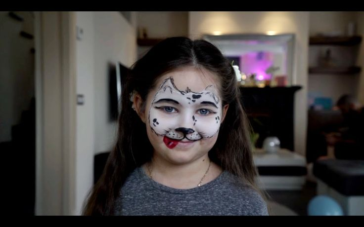 АКВАГРИМ делаем рисунки на лице: собачка, бабочка, кошечка. Развлечения ...