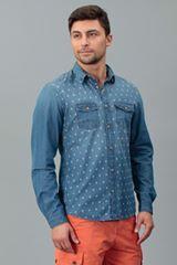 рубашка всегда актуальна. В этом сезоне   носят рубашки с принтом из денима и натуральных тканей http://donothing.com.ua/products/SE013107?cID=3