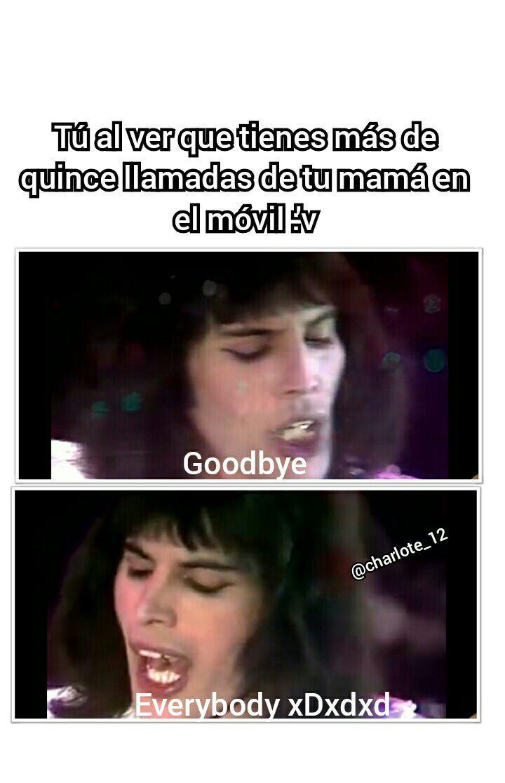 Memes De Queen Goodbye V Memes Memes De Rock Memes Divertidos