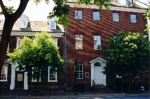 The Ghost of the Female Stranger - Gadsby's Tavern Alexandria, VA On their travels, a man and his companion wife of which no one knew her name, stopped at a hotel in Alexandria, Virginia. Their ship diverted course and put into harbor close to Alexandria so the two could row to shore because she was feeling v