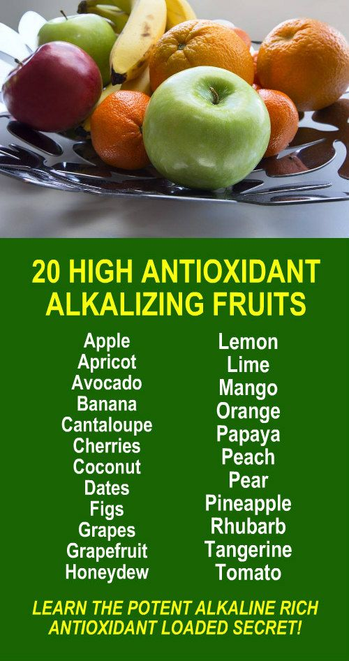 20 Super High Antioxidant Alkalizing Fruits. Get our FREE weight loss eBook with suggested fitness plan, food diary, and exercise tracker. Learn about Zija's potent Moringa based weight loss products that help your body increase energy, burn fat, detox, a