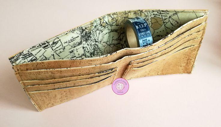 #billetera #cartera #wallet #vegana #corcho #cork #handmade #hechoamano #telas #fabrics #regalos #chicos #personalizados #unicos #diferentes #exclusivos