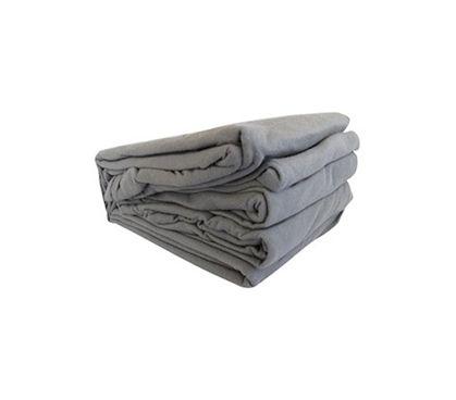 Feels Like Soft T-shirt - College Jersey Knit Twin XL Sheets - Dark Gray - Dorm Room Shopping