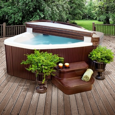 3 person corner hot tub. 3 Person Lifesmart Discovery Rock Solid Jewel Hot Tub Spa with 15 Jets w  Cover via Rumma 23 best tub images on Pinterest tubs Plugs and Backyard