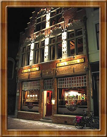 Our first food stop in Brugge was Cambrinus - great for traditional flemish food and over 400 beers to choose from