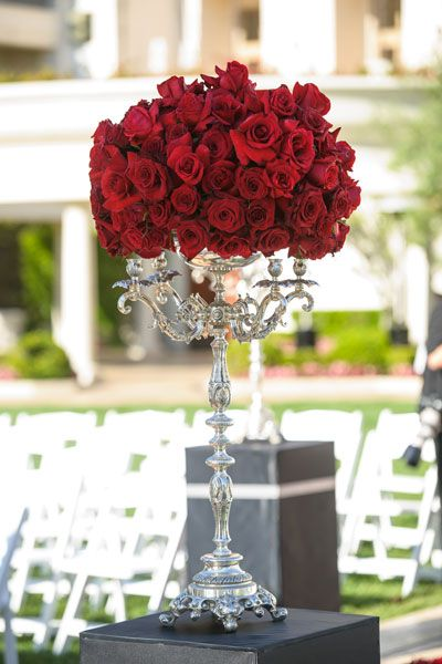 Wedding Color Red - Red Wedding Theme | Wedding Planning, Ideas & Etiquette | Bridal Guide Magazine ---- WOW!!! Just wow....