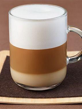 nespresso latte macchiato layering a favorite espresso. Black Bedroom Furniture Sets. Home Design Ideas