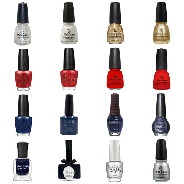 Red, White, & Blue Nail Polish Shades & Color Combinations
