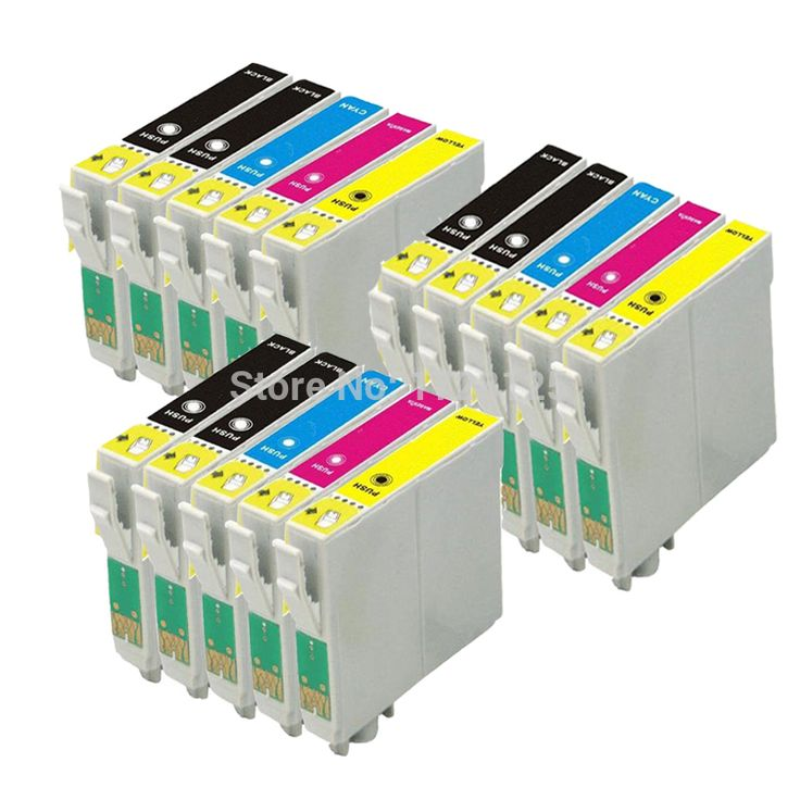 15 Ink Cartridges (3 Sets + Black) non-OEM to replace T1285 & T1281 Nail That Deal http://nailthatdeal.com/products/15-ink-cartridges-3-sets-black-non-oem-to-replace-t1285-t1281/ #shopping #nailthatdeal
