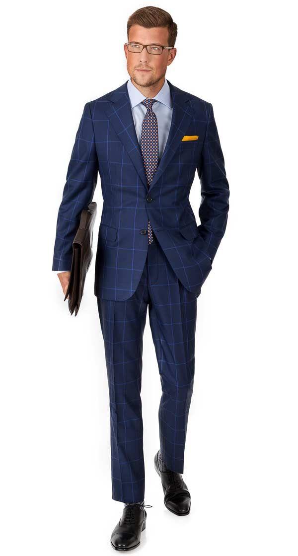 963 best blue suit ideas images on pinterest men 39 s suits for Navy suit checkered shirt