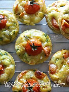 Muffin alle verdure | ricetta veloce antipasto vegetariano |