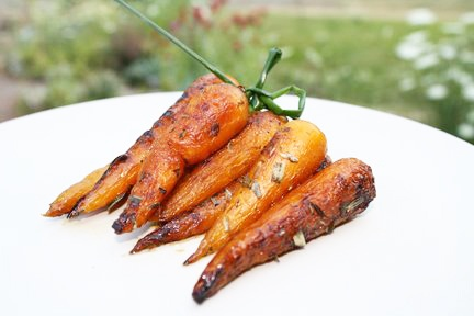 Caramelized Baby Carrots