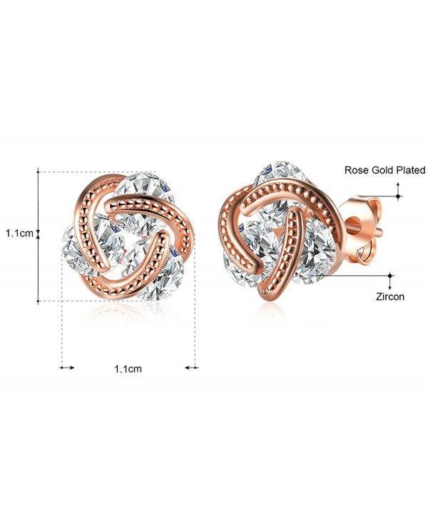 4577f57c654 Ear Wire Ear Cuff Stud Earring Jewelry Crystal Cubic Zirconia Hoop ...