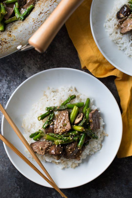 Recipe: Stir-Fried Beef and Asparagus  Recipes from The Kitchn