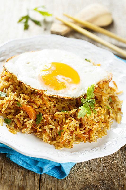 Жареный рис (по следам Nasi Goreng): maria_kitchen