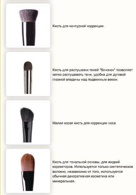 Кисти для макияжа — какая для чего, фото 2