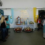 La Santisima Virgen del Valle visita el Centro de Documentación Rápida