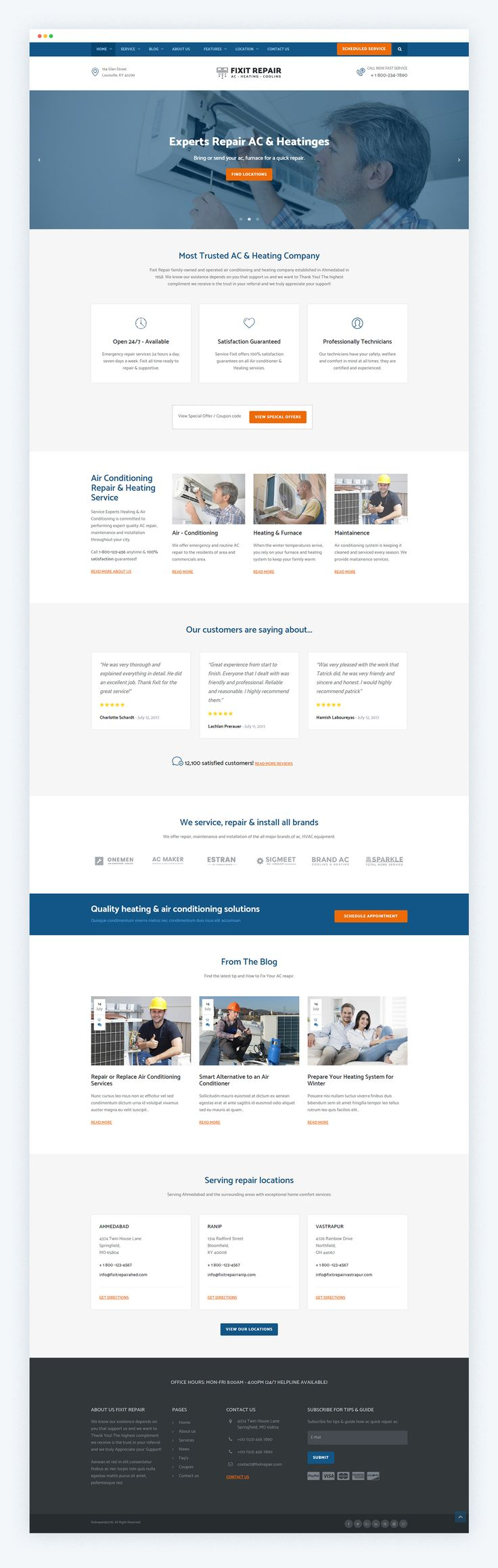 """Check out my @Behance project: """"HVAC Repair & Air Condition Repair Service on Behance"""" https://www.behance.net/gallery/44400397/HVAC-Repair-Air-Condition-Repair-Service-on-Behance"""