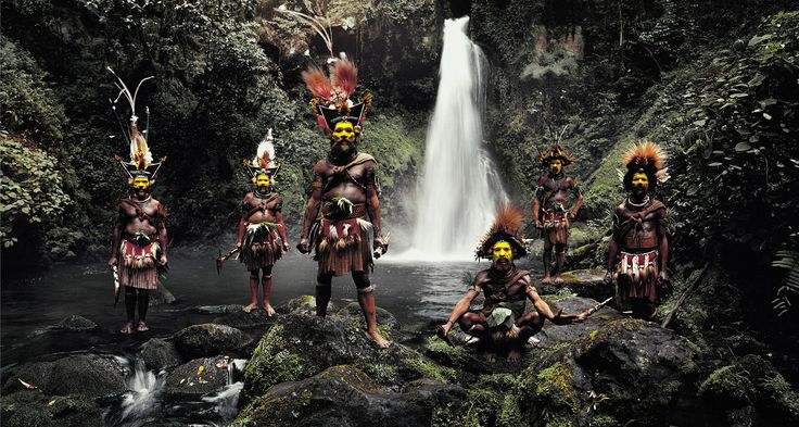 Huli - Papousie Nouvelle Guinée Photo : Jimmy Nelson