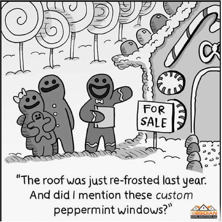 Gingerbread House hunters!! This is me today....a little Thursday humor before heading into the weekend. #homesolutions #house #obsidianhomesolutions #weekend #homeforsale