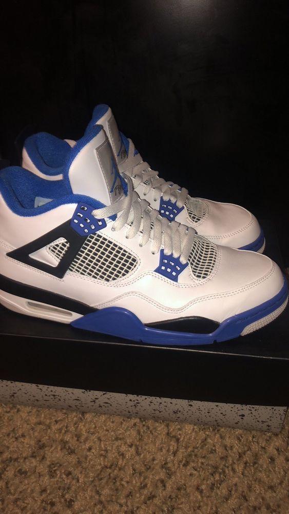 0a03cbec4ef939 jordan retro 4 motorsport  fashion  clothing  shoes  accessories  mensshoes   athleticshoes (ebay link)