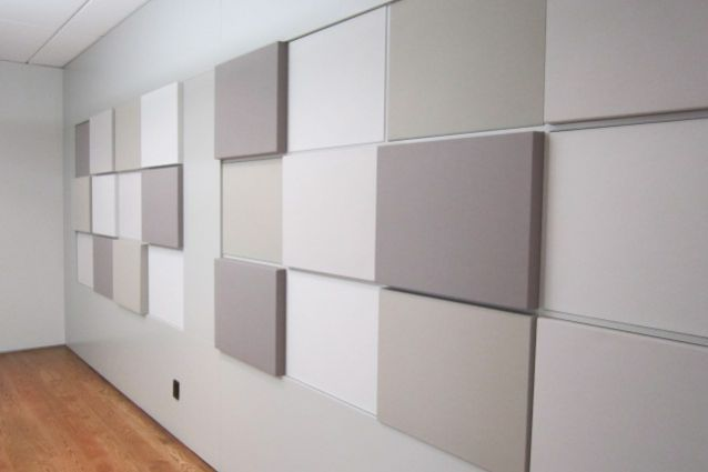 BNZ Offices – Fabwall™ 3D acoustic wall panels were used to dramatic effect