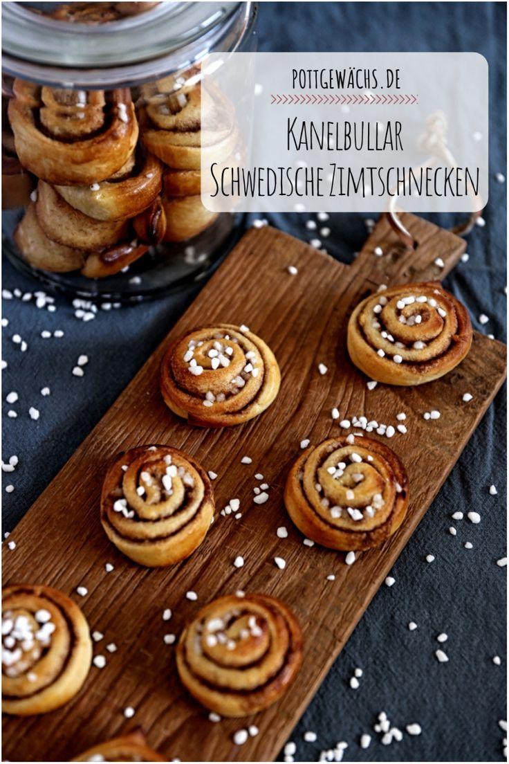 Kanelbullar – Schwedische Zimtschnecken