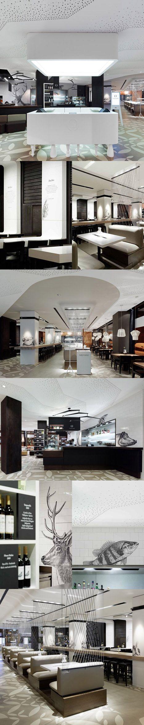 117 best Hostelería images on Pinterest   Restaurant design, Cafe ...