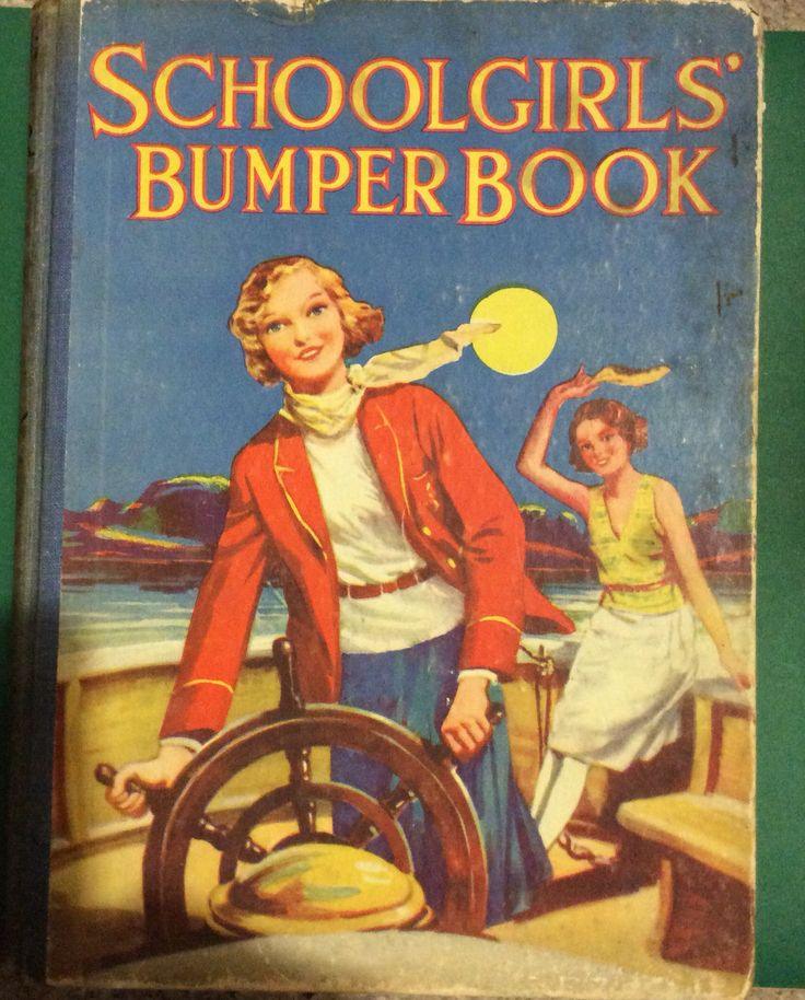 Schoolgirls Bumper Book. The Children's Press. Inscription dated 1937. Given to my mother on her 11th birthday