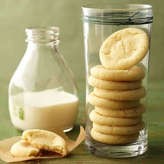 Melt-in-Your-Mouth Sugar Cookies - just what we all need - melt in our mouth cookies. ;-)