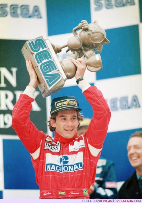Airton Senna / Sonic