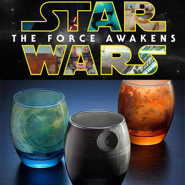Throw a Party with Star Wars Barware: You don't have to hang out in Mos Eisley to know it's party time.