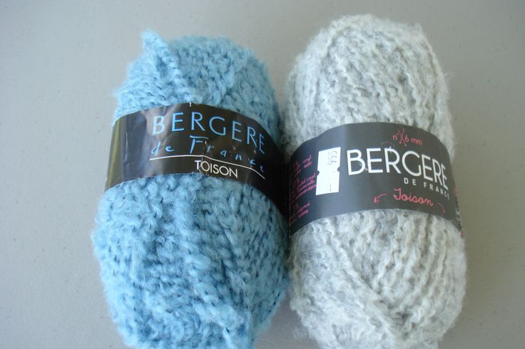 Toison Yarn by Bergere De France, Thick and Thin, Plied Yarn, Fluffy, Bouncy, Soft, Novelty, Wool Blend, Easy Care, Fancy Yarn, Boucle by Momsvintagebooks on Etsy